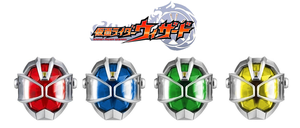 Kamen Rider Wizard Rings Anillos by XMarcoXfansubs