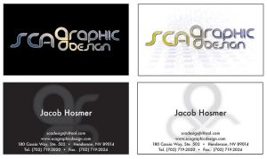 sca graphic design Logo by jakehosmer