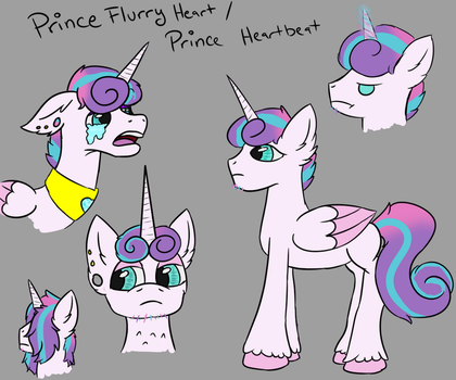 Prince Flurry Heart / Prince Heartbeat by MommaNessy