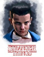 Eleven | Stranger Things by CAraracap