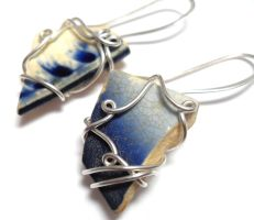 Atlantis Found Earrings no. 5 by sojourncuriosities