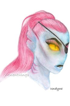 Undyne by VirulentWings
