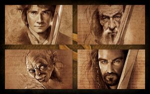 The-Hobbit-new-wallpapers by bibka9970