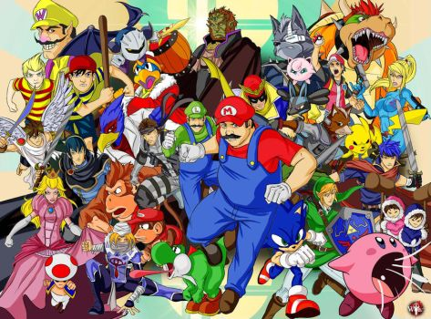 Smash Bros. by WiL-Woods