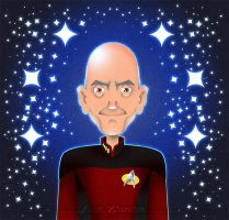 Captain Picard by JadeGordon