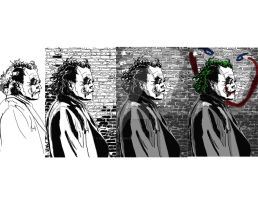 Evolution of The Joker by morganmcardle