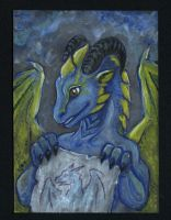 ACEO for Drrrakonis by Eva-the-DragonLady