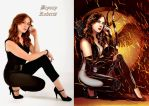 Bryony Roberts is Classy Katniss By Ange10 - Ulics by zenx007