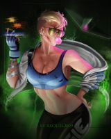 Cassie Cage : REMAKE by axouel2009