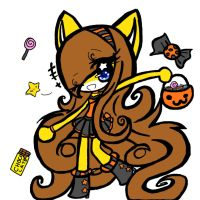 Happy Halloween 2012! by SunshinetheCat