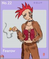 Fearow by Blue-and-Dog