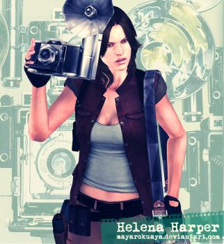 The Photographer - Helena Harper by MayaRokuaya