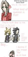 Aerith says uhm... by IllusionedTime
