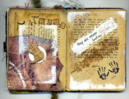 Song Altered Book - Spread 2 by tisjewel