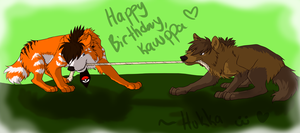 Happy birthday Kawppa by Hukkahurja