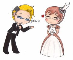 Chibigamis: Eric and Alan by pitchperfect