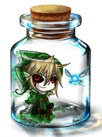 BEN in a Bottle by WarriorWildfur