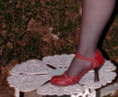 Yet another red shoe by ujustwannabme