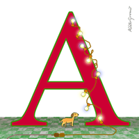 My dog likes 'A' by altergromit
