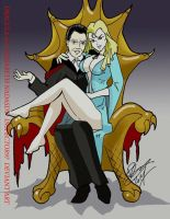 Dracula and  Elisabeth Nadasdy by Inspector97