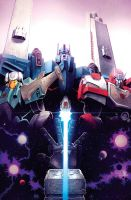 Dark Cybertron issue 3 Nick Roche Cover by dcjosh