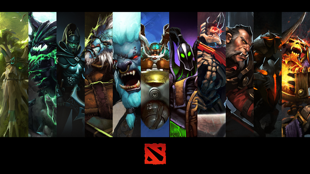 Dota2 Wallpaper by ImKB