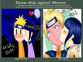Before and After/Naruhina by Nazaret-MNOG