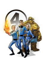 fantastic four by jimmymcwicked