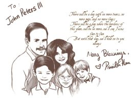 To John Peters and his Family by thewyteangel