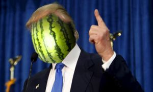 Melon Trump by DinoSam