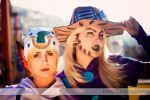 Gyro Zeppeli and Johnny Joestar by LauraNikoPhantomhive