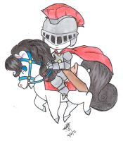 Knight Time Ride by TwinCandles
