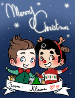Klaine - Merry Christmas by Sunshunes
