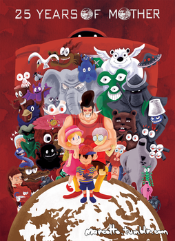 MOTHER 25th Anniversary by Marcotto