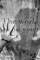 the world and you by justcallmeBECK