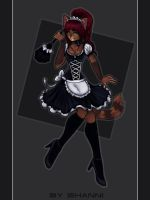 French maid by madShanni