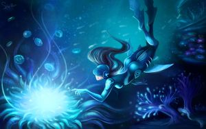 Into the deep by Svelien