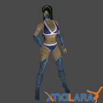 Kitana bathing suit by DragonLord720
