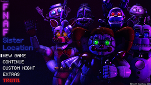 FNAF: SL (Fanmade Title Screen) by YingYang48