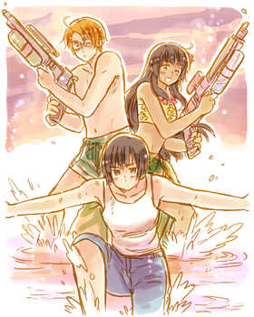 Splash Attack! by Cioccolatodorima