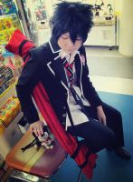 Ao no Exorcist: after school at the arcade..01 by XiaoBai