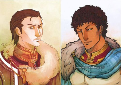 Traditional portraits 2 by OceanLord