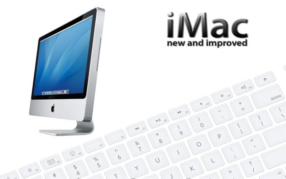 New iMac by halliesfar