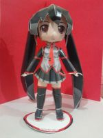 Miku Zatsune papercraft by daigospencer