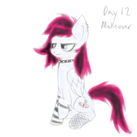 ATG2 Day 30 Catch-up Day 12 Gothy Phoe by Muffinsforever