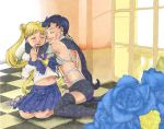fighter and Usagi2 by hude7