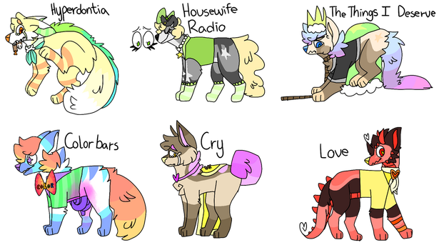 Even More Adopts (closed) by ratmaeda