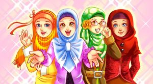 muslimah character design2 by ambientdream