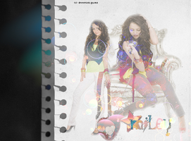 Miley Cyrus - layout by agathaa90