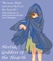 Hestia, Goddess of the Hearth by SnowyBubbles